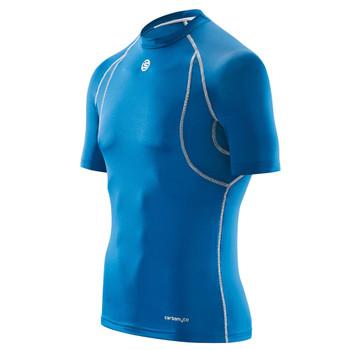 SKINS Men's Carbonyte Short Sleeve Baselayer Top [royal blue]