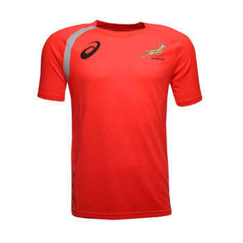 ASICS south africa springboks players training t-shirt LTD EDITION