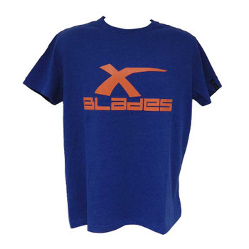 X-BLADES rugby logo t-shirt [royal]