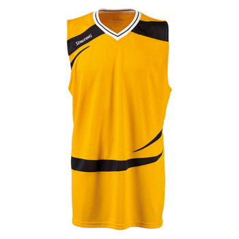 SPALDING basketball training logo tank top [yellow]