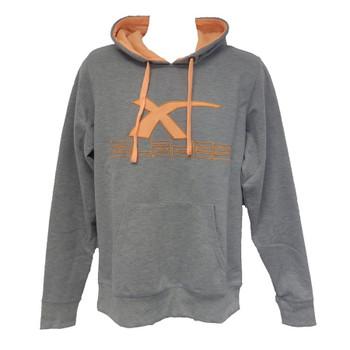X-BLADES rugby hoodie [orange/grey]