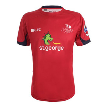 BLK queensland reds rugby training t-shirt [red]