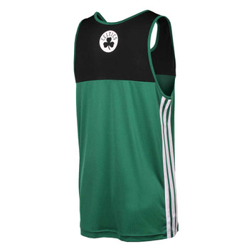 ADIDAS Boston celtics summer run basketball tank 2015 [green/black]