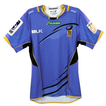 BLK western force home rugby shirt [blue]