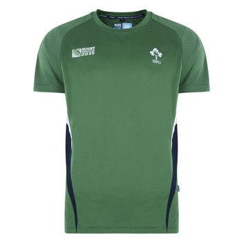 CCC ireland rugby world cup 2015 centre performance t-shirt [green]
