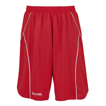 SPALDING basketball crossover training shorts [red]