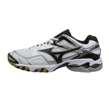 MIZUNO Wave Bolt 3 Indoor Volleyball Shoe [white/black]