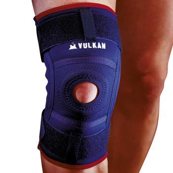 VULKAN hinged knee support [navy]