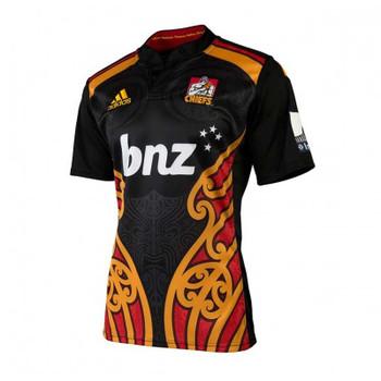 ADIDAS chiefs home replica rugby shirt [black]