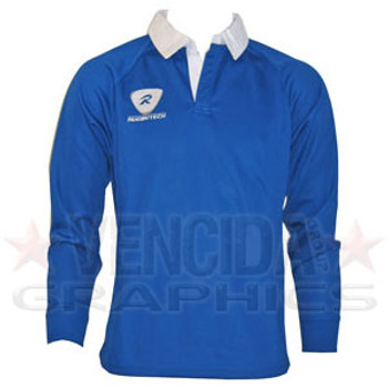 6ee48df8b38a RUGBYTECH Kids Clubwear L S Jersey  Royal Blue
