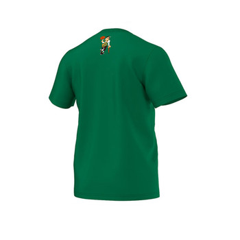 ADIDAS Boston Celtics basketball 'The Clinic 9'  t-shirt [green]