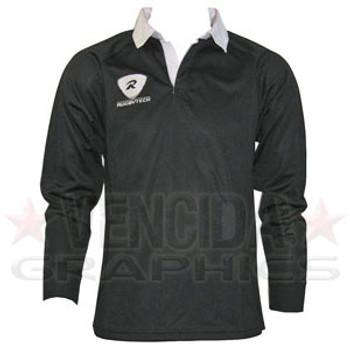 RUGBYTECH Kids Clubwear L/S Jersey [Black]