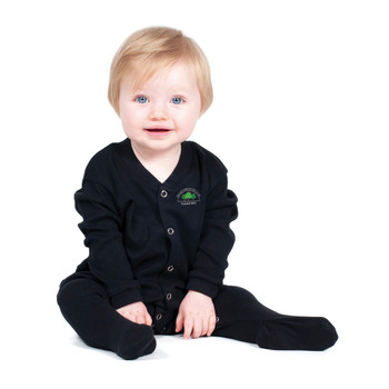 BELSIZE PARK Baby sleepsuit [black]