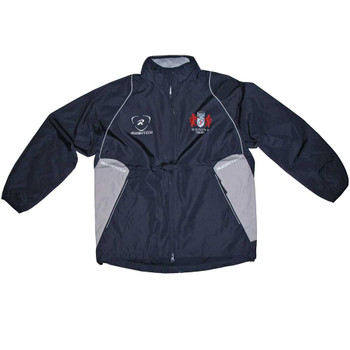 RUGBYTECH gloucester rugby club rain jacket [navy]