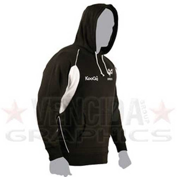 KOOGA ospreys rugby teamwear hood [black/white]