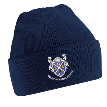 EGGCATCHER classic knitted turnover hat ST ANDREWS