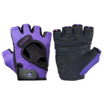 HARBINGER women's flexfit fitness gloves [purple]