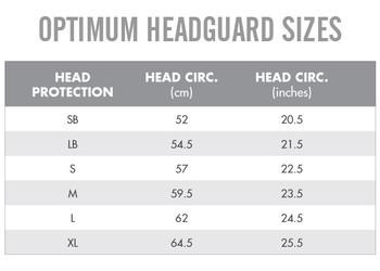 OPTIMUM origin rugby headguard [black/flouro]