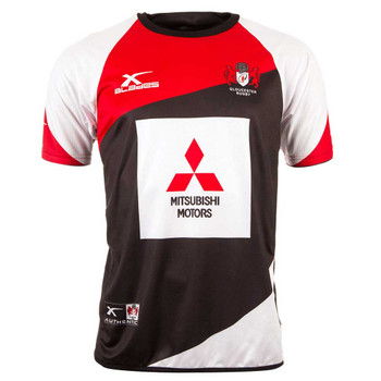 X-BLADES gloucester rugby elite pro training t-shirt [black/red]