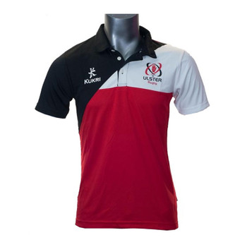 KUKRI ulster rugby mens performance polo shirt