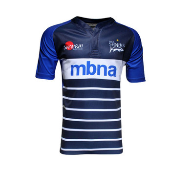 SAMURAI sale sharks home rugby jersey [navy]