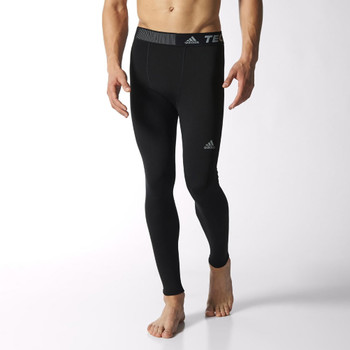 ADIDAS techfit base warm long tights [black]