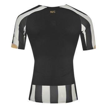 PUMA newcastle united home authentic adult football shirt [black/white]