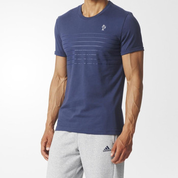 ADIDAS France Rugby Collegiate Tee [blue]