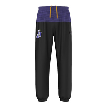 ADIDAS Los Angeles Lakers Fan Wear Fleece Pant  [Black/Purple]