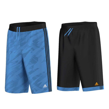 ADIDAS reversible GFX basketball shorts [black/blue]