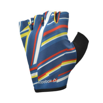 REEBOK ladies fitness training gloves [rainbow]