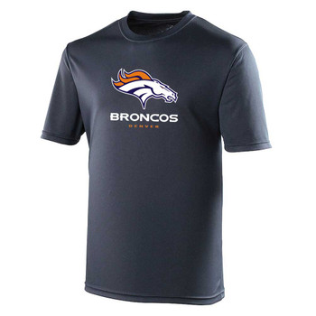 DENVER BRONCOS american football performance t-shirt [navy]