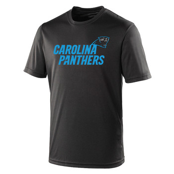 CAROLINA PANTHERS american football performance t-shirt [black]