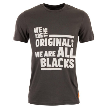 ADIDAS new zealand all blacks rugby graphic t-shirt [black]