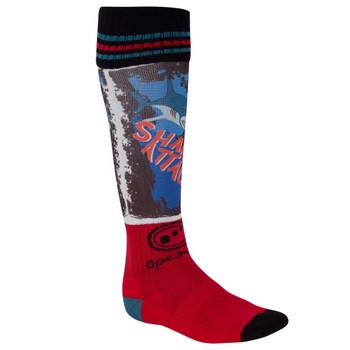OPTIMUM Shok Sox Shark Attack rugby socks