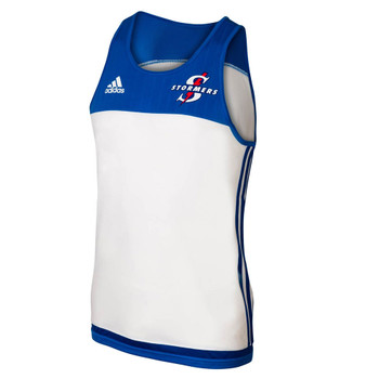 ADIDAS stormers rugby vest [white/blue]