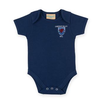 Cheddar baby bodysuit