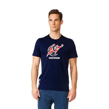 ADIDAS Washington Wizards basketball fan wear t-shirt [navy]