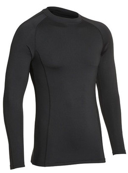 All Purpose Baselayer Long sleeve Top Adults  [black]