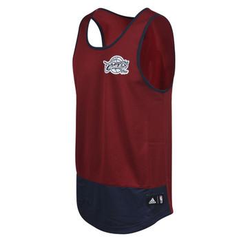 ADIDAS cleveland cavaliers basketball summer run tank [maroon]