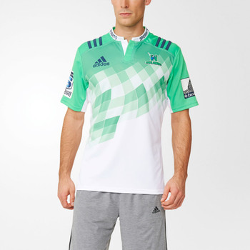 ADIDAS Highlanders Alternate Rugby Jersey [green/white]