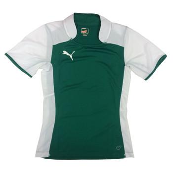 PUMA trainingseparate rugby shirt [green/white]