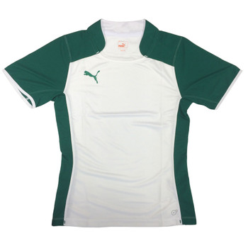 PUMA training separate rugby shirt [white/green]