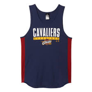 ADIDAS cleveland cavaliers NBA winter hoops basketball vest [navy]