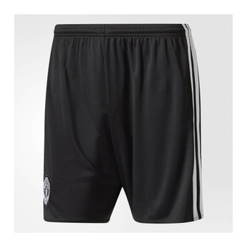 ADIDAS manchester united away football shorts [black]