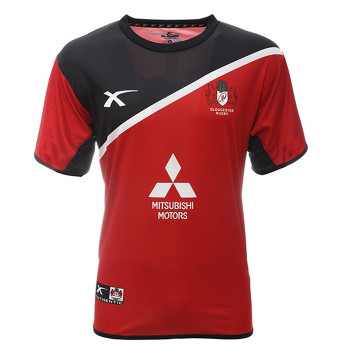 X BLADES gloucester rugby stirling training t-shirt  [red/black]