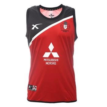 X BLADES gloucester rugby stirling training singlet [red/black]