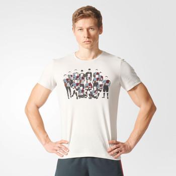 ADIDAS harlequins rugby 150-year t-shirt