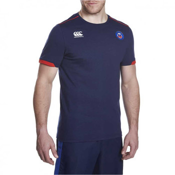 CCC Bath rugby cotton training tee shirt [peacoat]