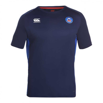 CCC Bath rugby superlight poly training tee shirt [peacoat]